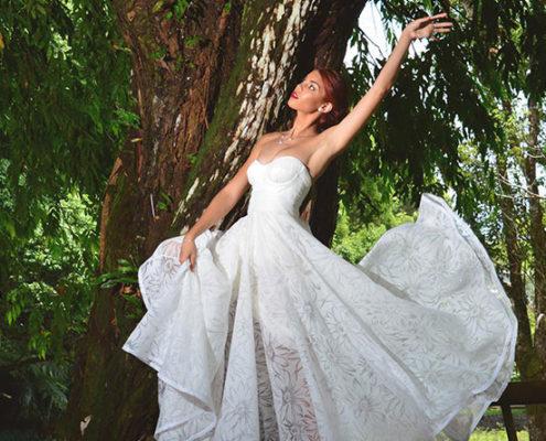 La maison Lionnet Couture pour des robes de mariée sur-mesure à Maurice