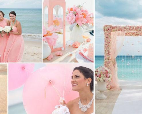 Mariage sur la plage à Maurice : le lagon comme thème couleur