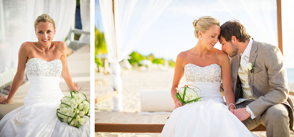 Mariage au St Regis Mauritius Resort