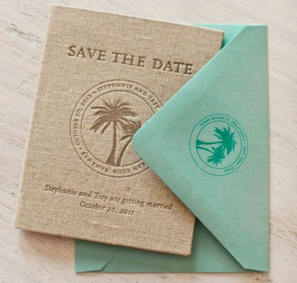 Save the date passeport par Atheneum Creative