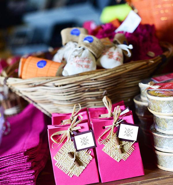 Des cadeaux gourmands pour les invités