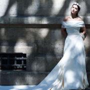 Le styliste franco-mauricien Perry Ah Why pour une robe de mariée fidèle à soi-même