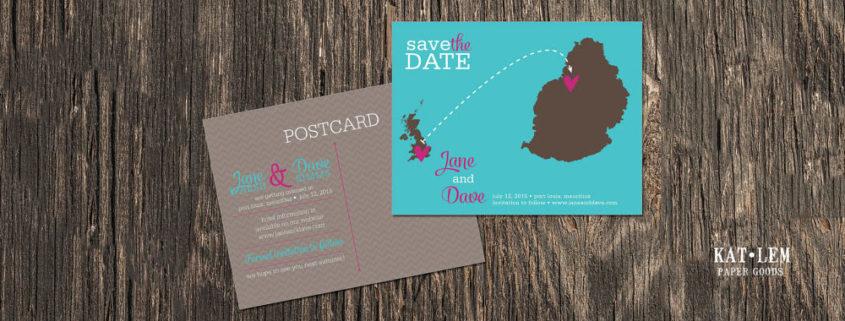 De l'utilité du Save the Date pour votre mariage à l'île Maurice