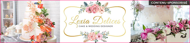 Lexia Delices Cake & Wedding Design