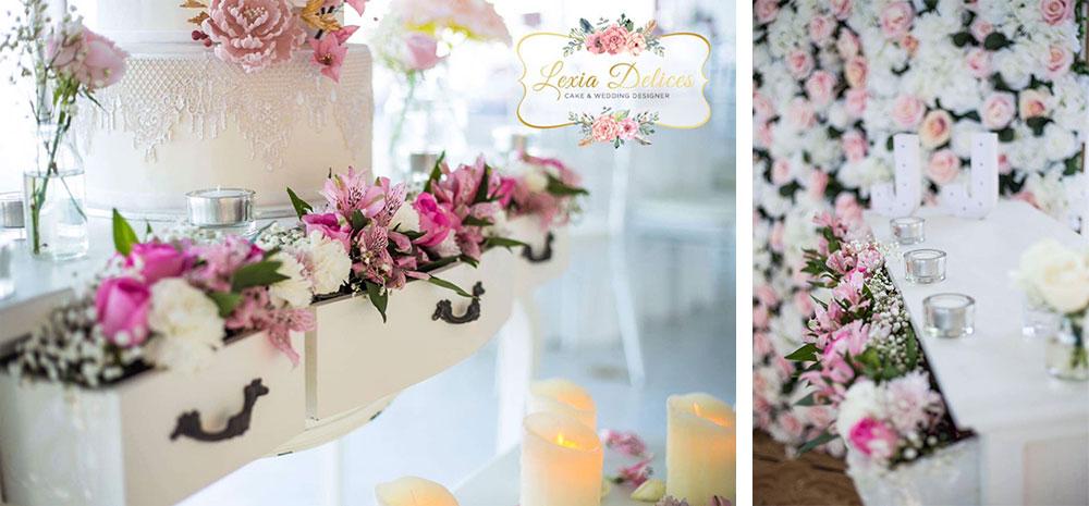 Le gâteau de mariage aux amandes