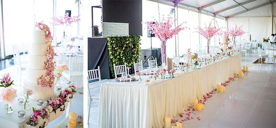Décoration par Léxia Délices Cake & Wedding Design