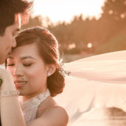 Le mariage sous les cerisiers en fleurs de Jenna et Jean-Luc