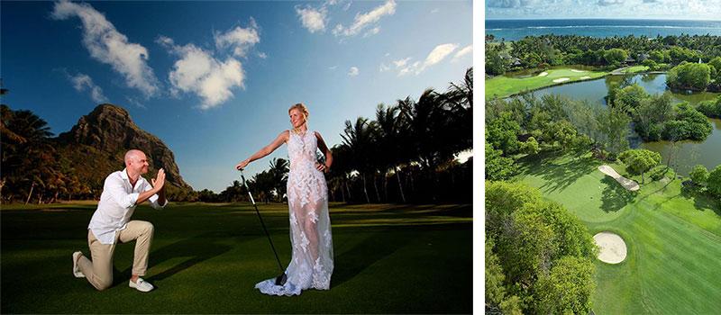 Un Mariage au Paradis – hôtel Dinarobin et Legend Golf Course