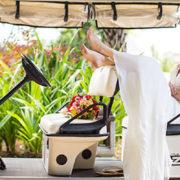 Quand la mariée fait son entrée : les moyens de transport originaux