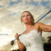 Quand les amoureux de golf se marient à l'île Maurice