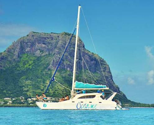 Se dire « Oui » à l'île Maurice sur un catamaran Océane Cruises
