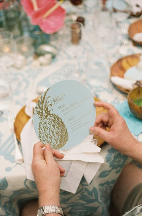 Carte menu - Steve Steinhardt Photography