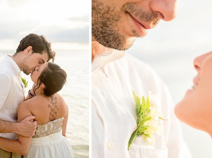 Douceur et tendresse dans les photos de mariage de Clyde Louison