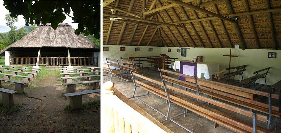La chapelle Notre Dame de Fatima pour un mariage en pleine nature à l'île Maurice
