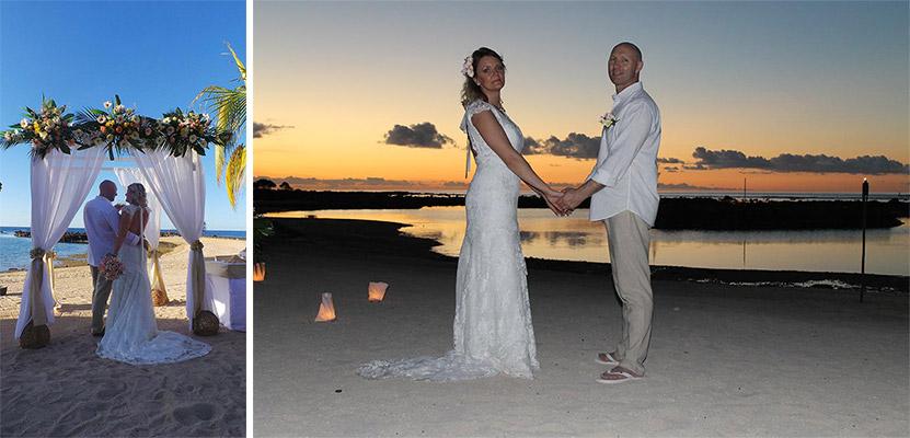 Le mariage de Betty à l'île Maurice : un rêve de princesse pour ses filles et elle