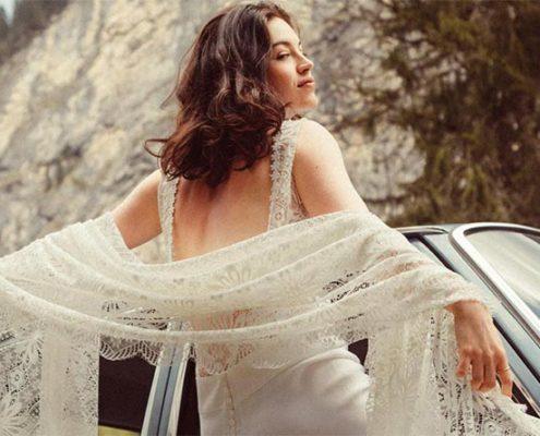 Les robes de mariée Elise Hameau sous le signe de la liberté