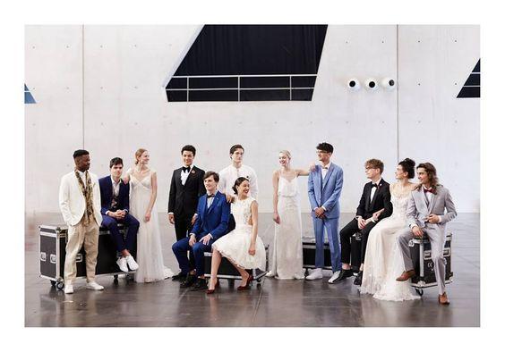 robe de mariée signée Chris Von Martial