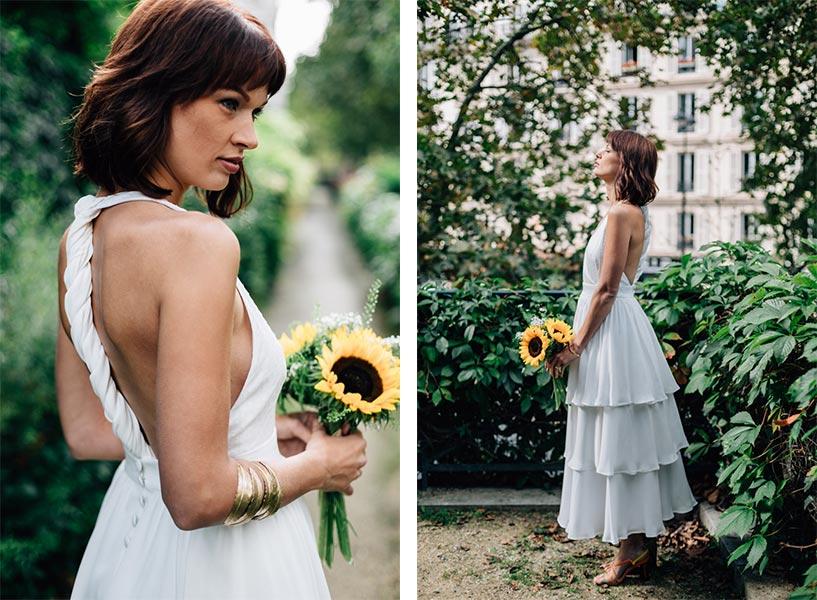 Mélodie Boitard robe de mariée sur mesure