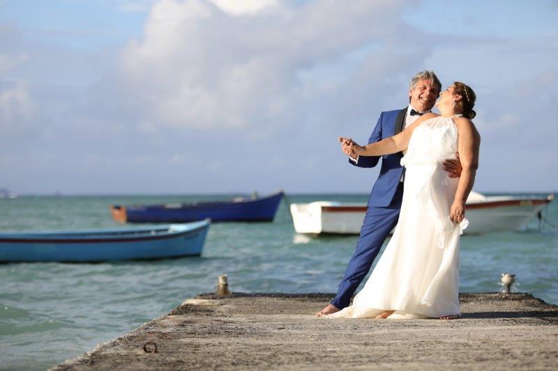 Claire et Yves : le témoignage d'un mariage intime à l'île Maurice