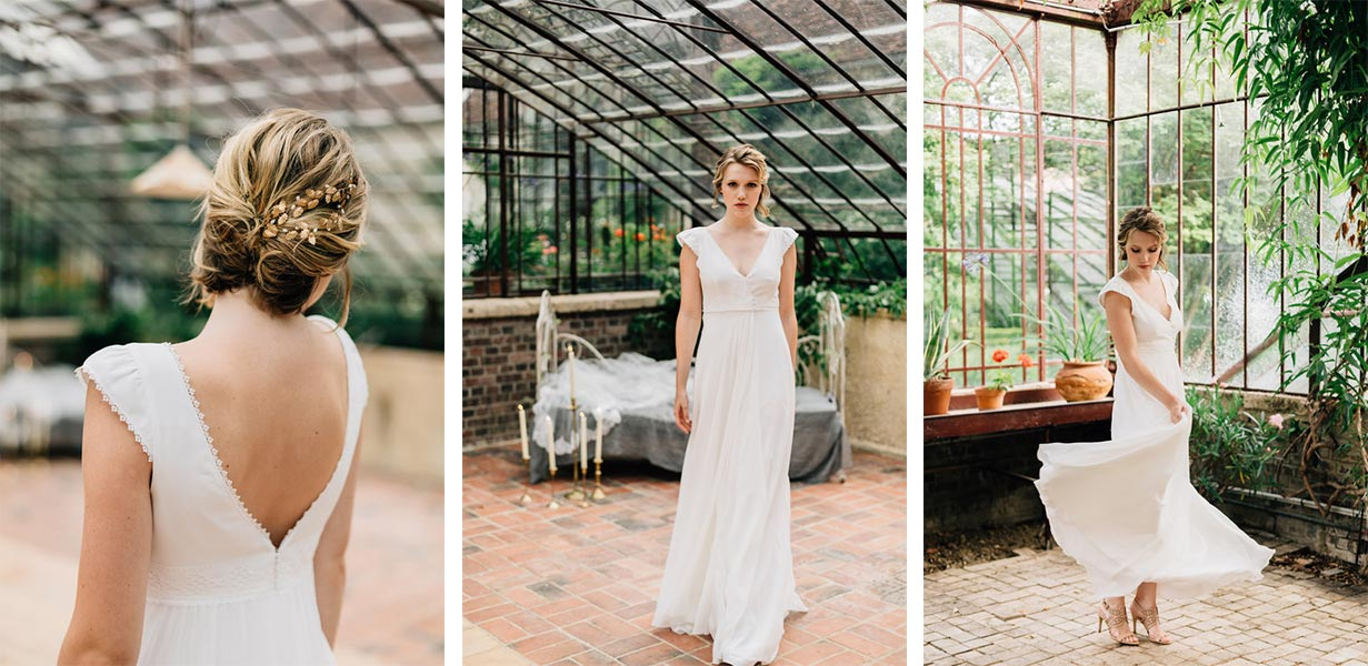 organse robe de mariée