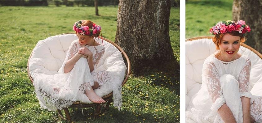 couronne fleurs colette bloom