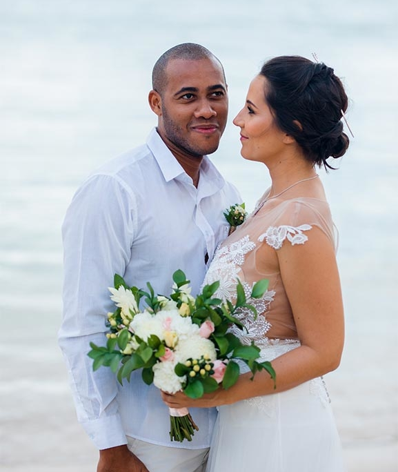 shooting d'inspiration mariage plage