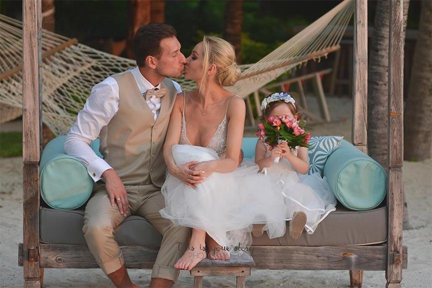 se marier à Maurice avec des enfants