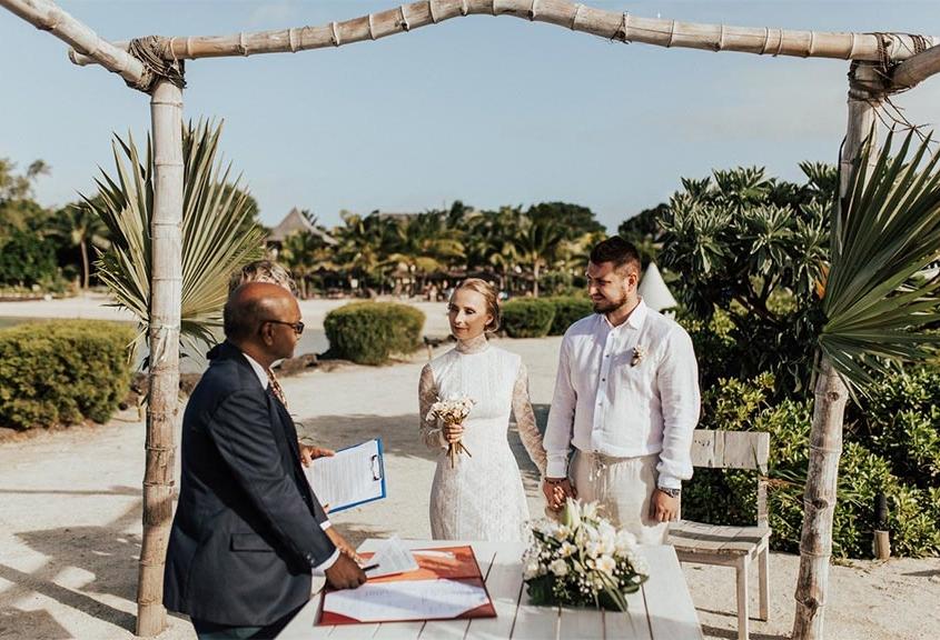 mariage hotel zilwa ile maurice