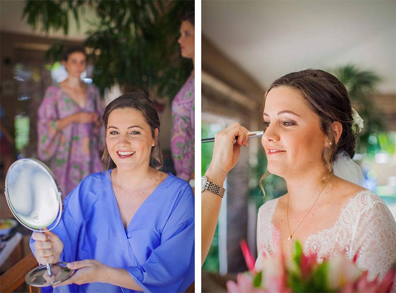 maquillage mariée ile Maurice