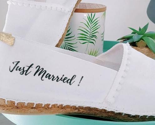 espadrilles mariée