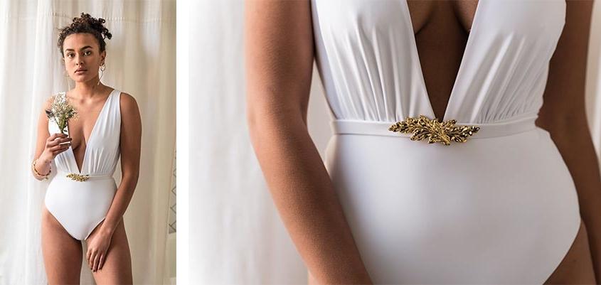 maillot blanc mariage
