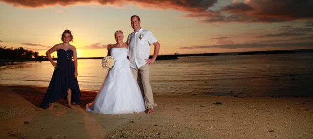 mariage ile maurice trou aux biches
